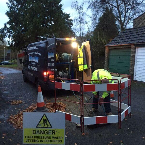 Blocked drains toilets sinks in Woodley